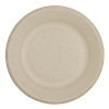 "World Centric Compostable 6"" Fiber Ripple Edge Plates 1000/Case"