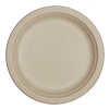 "World Centric Compostable 7"" Fiber Plates 1000/Case"