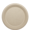 "World Centric Compostable 9"" Fiber Plates 1000/Case"