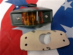 Military Trailer Yellow Marker Light New M-series 7261919-2