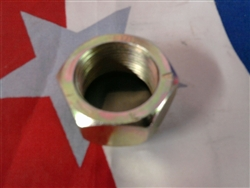 M35A2 2.5 ton Left Side Rear Outer Lug Nut for Duels. 83-156-H