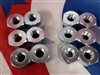 M35A2 2.5 ton Right & Left Front Lug nuts Singled out rears Bobbers set of 12