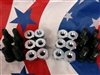 M35A2 2.5 ton Right & Left Front Lug nuts and Studs Singled out Rears 1 axle set