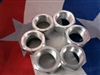 M35A2 2.5 ton Right Side Rear Outer Lug Nuts for Duels. Set of 6 83-155-H