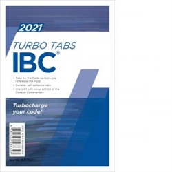2021 International Building Code Turbo Tabs - Loose Leaf