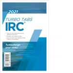 2021 International Residential Code Turbo Tabs - Soft Cover