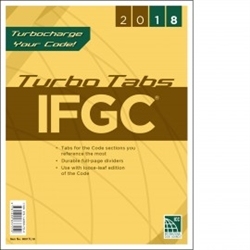 2018 International Fuel Gas Code Turbo Tabs - Soft Cover
