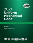 2021 Uniform Mechanical Code Soft Cover w/Tabs
