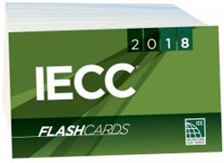 2018 International Energy Conservation Code Flash Cards
