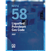 NFPA 58: Liquefied Petroleum Gas Code, 2017 edition