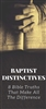 Baptist Distinctives Brochure