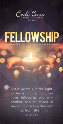 Fellowship Bract - Custom Brochure Tract