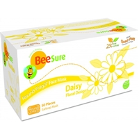 BeeSure® Face Masks with Floral Design, Daisy