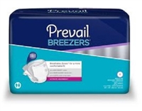 Breezers™ by Prevail® Adult Briefs: Regular, 80 ct/cs