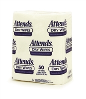 Attends Quickables® Dry Washcloths(Heavy Weight): 1000 ct/cs