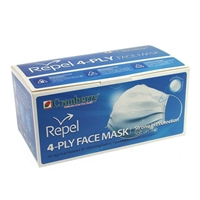 Cranberry® Repel® 4-PLY Face Mask