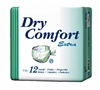 Dry Comfort™ Extra Briefs: Large, 72 ct/cs