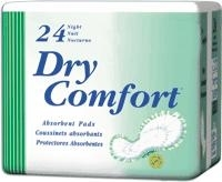 "Dry Comfortâ""¢ Night Pad: 48 ct/cs"