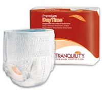 Tranquility Premium DayTime&#153 Disposable Underwear: XXLarge,  48 ct/cs