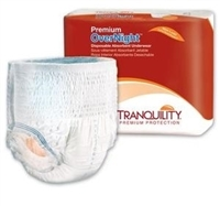 Tranquility Premium OverNight&#153 Disposable Underwear: XXLarge, 48 ct/cs
