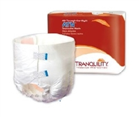 ATN (All-Through-the-Night) Disposable Briefs: X-Small, 10 ct/bag