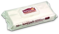 "Tranquility Cleansing Wipes: 9"" x 13"", 600 ct/cs"