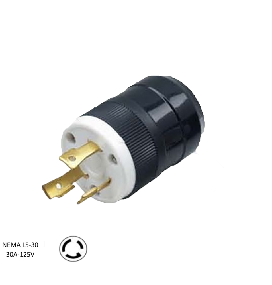 [DIAGRAM_4FR]  NEMA L5-30P, 30 Amp, 125 Volt, 2P, 3W, Locking Plug, Grounding | L5 30p Wiring Ac Plug |  | Cords and Components