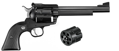 "Ruger Blackhawk Convertible 9MM/.357MAG 6.5"" 0318"