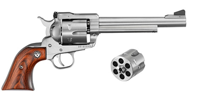 "Ruger Blackhawk Convertible Stainless 9mm/.357MAG 6.5"" Bbl. 0320"