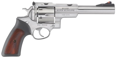 "Ruger Super Redhawk 10MM SS 6.5"" 5524 NEW EZ PAY $78"
