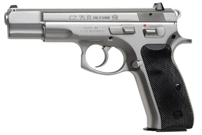 CZ 75B Matt Stainless 9MM 91128 NEW EZ PAY $67