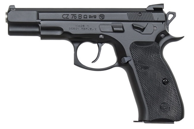 "CZ 75B Omega Black 9MM 4.6"" 91136 NEW MODEL EZ PAY $47"
