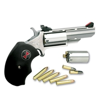 North American Arms Black Widow Convertible .22LR/.22MAG Adjustable Sights NAABWCA