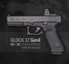Glock 17 Gen4 GEN4 MOS Optics Ready