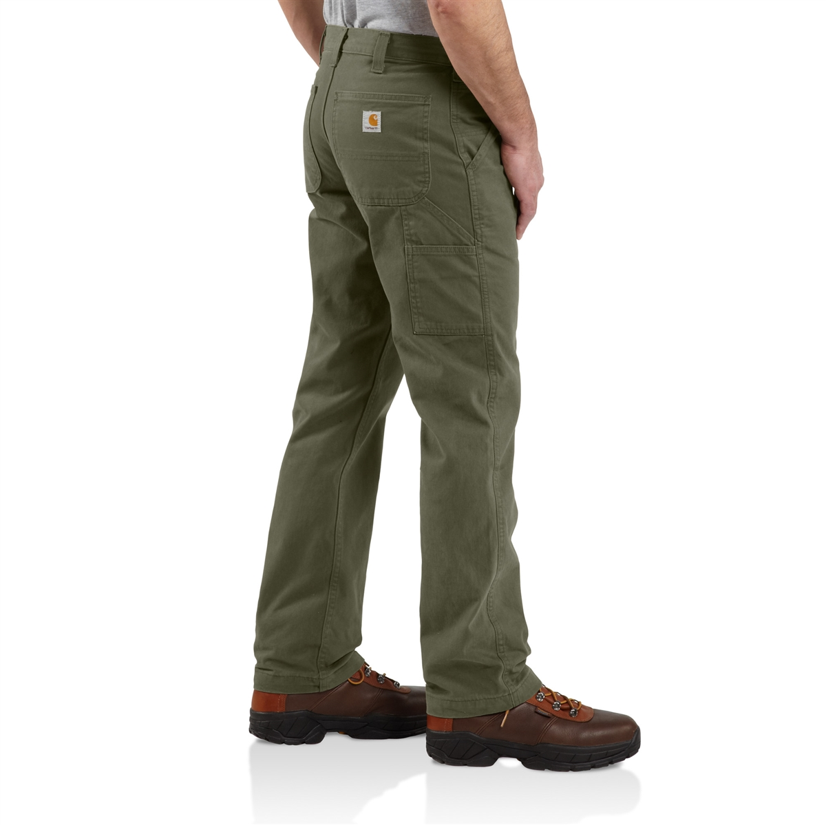 Carhartt Mens Relaxed Fit Washed Twill Dungaree Pant