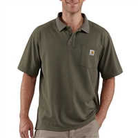 Carhartt Contractor's Work Pocket Polo - K570