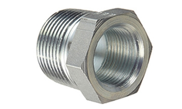 """5406-12-08 Hydraulic Adapter 3//4"""" Male Pipe X 1//2"""" Female Pipe Reducer Bushing"""
