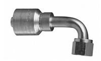 P43-FJ90L - JIC 90 - crimp hose fittings sold by Titanfittings.com