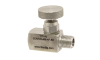 Standard Design Stainless Round Knob Mini Needle Valve