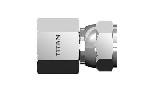 6506-12-12 Hydraulic Fitting 3//4 Female JIC Swivel X 3//4 Female Pipe Carbon Steel