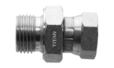 Male BSPP to Female BSPP Swivel Adapter-SS-9015 | Titan Fittings