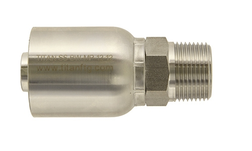 NPT Male Rigid  Stainless Fittings  Series BW Stainless Hose Fittings