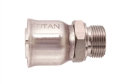 SS-R14-MDL Male Metric DIN Light sold by Titanfittings.com