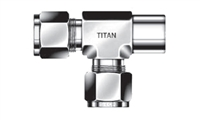NPT Run Tee | Tube Fittings