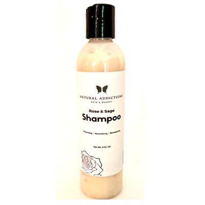 Rose and Sage Hydrating Shampoo