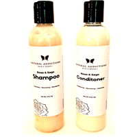 Rose and Sage Hydrating Shampoo and Conditoner