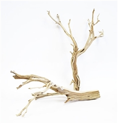"Sandblasted Ghostwood (California Driftwood), 18"", case of six (shipping included!)"
