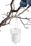 Hanging Votive Candle Holders, Clear
