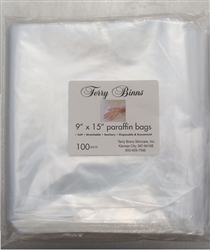 "Terry Binns 9""X15"" Paraffin Bags - hand or foot liner for mitt"