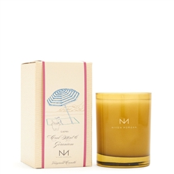 Niven Morgan ~ Capri White Flower & Vine Candle